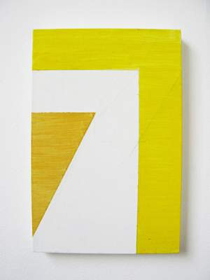 Yellow Rectilinear Painting